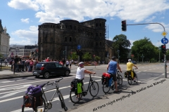 An der Porta Nigra in Trier (2018)
